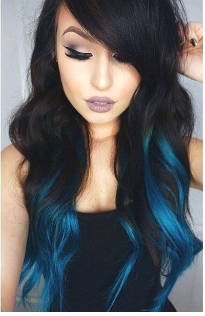 shades of teal hair teal my hair blue teal hair tips