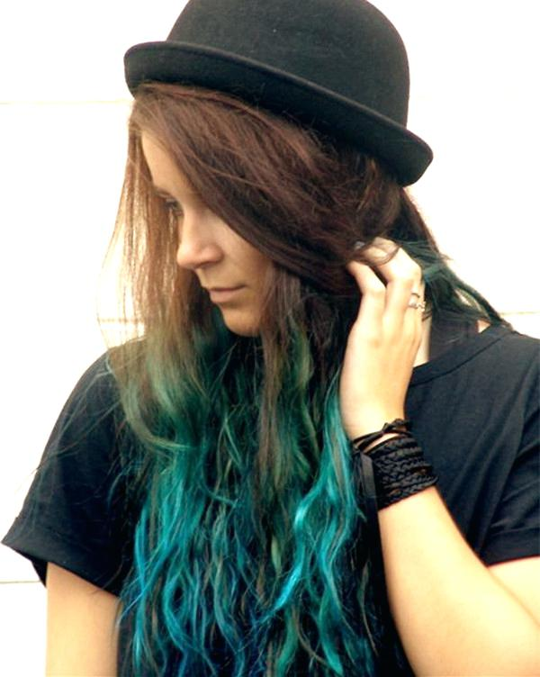 shades of teal hair turquoise hair color idea for brown hair girls nice sea green hair color blue teal hair dye