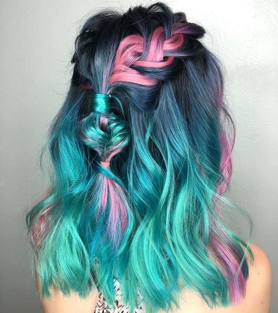 shades of teal hair with the ability to turn your hair any color in the world there are tons of different ways to wear a rainbow on your head these curated colors in teal blue teal hair dye boots