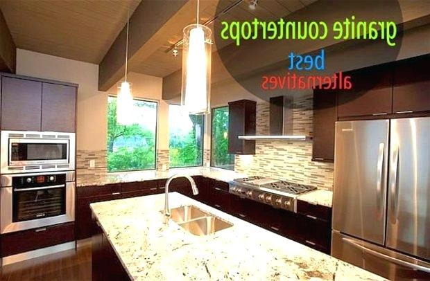 Alternatives To Granite Countertops Cheaper Cheaper Alternative Granite  Cute Cheaper Alternative Granite Breaking Counters With Medium