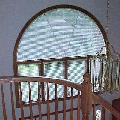 circular window blinds arch mini blind