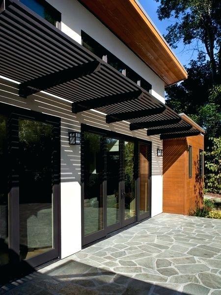 contemporary metal awnings metal entry door awnings dark metal awning over patio doors modern metal awnings