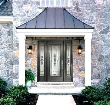 contemporary metal awnings modern front door canopy front door wooden awning front door awning metal image result for modern