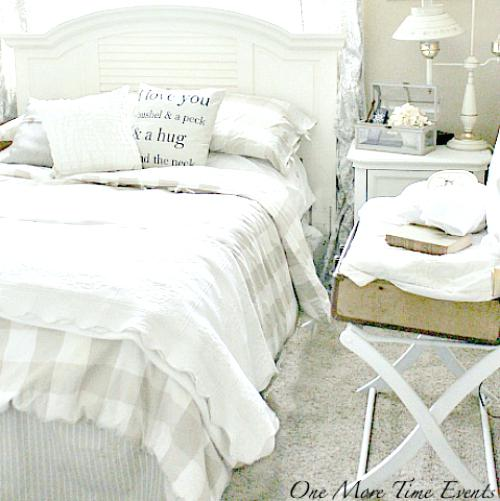 farmhouse bedding ideas guest room bedding from