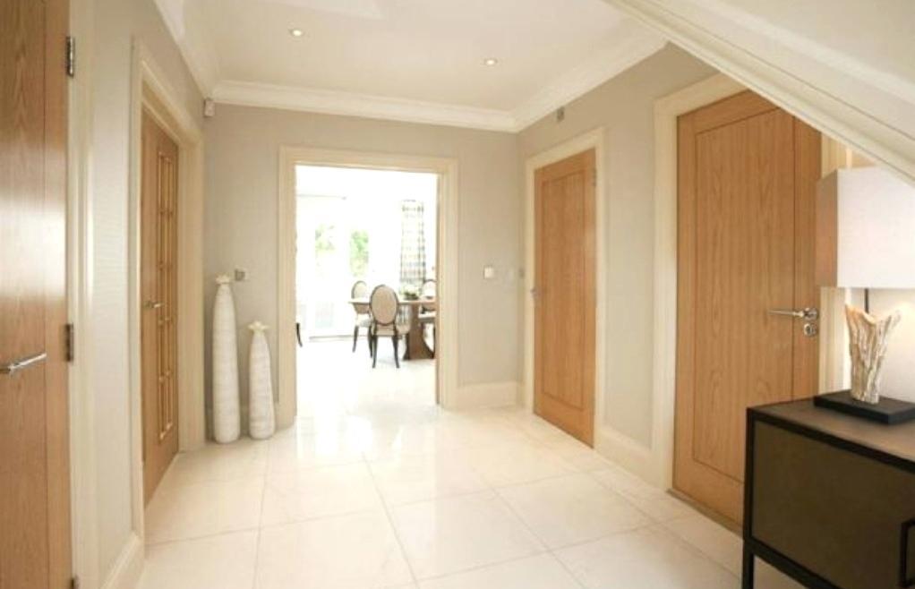 hallway doors ideas oak doors w white trim