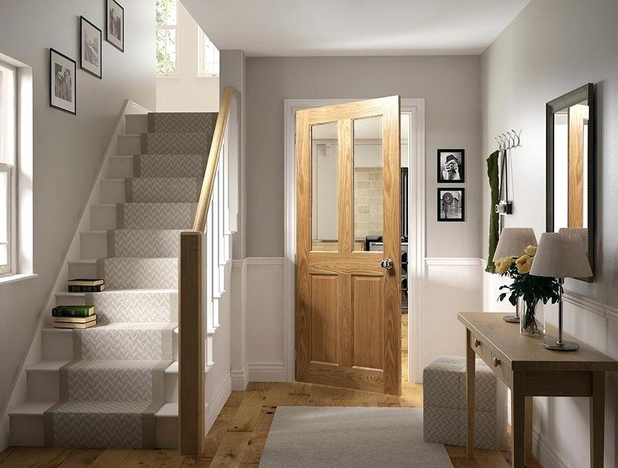 hallway doors ideas oak internal door hallway