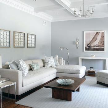 light grey walls white ceiling light gray sectional