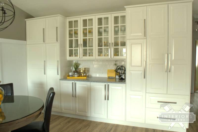 Open Kitchen Cabinets Ikea Dining Room At Classic Great Reveal Fascinating