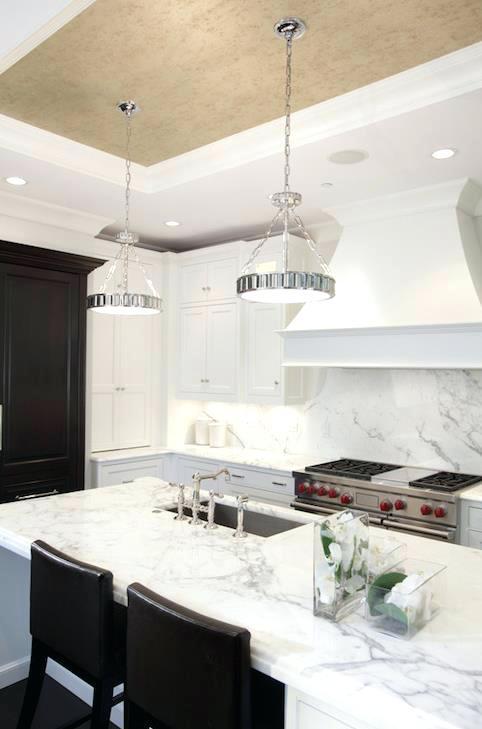 white and grey granite countertops kitchen white frame window and door light grey marble granite classic dark cherry cabinet