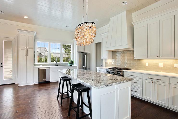 white and grey granite countertops white kitchen island with gray granite