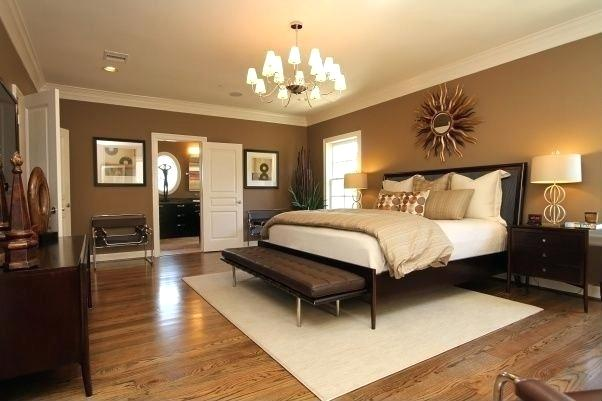 light hardwood floors wall color modern master bedroom light hardwood floors in bedroom with a light chocolate walls