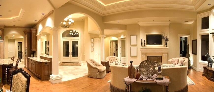 light hardwood floors wall color this luxurious living room holds a lot of different shapes and designs the hardwood flooring