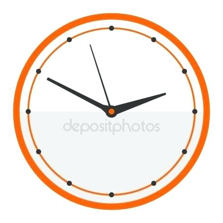 modern clock face clock face watch vector illustration