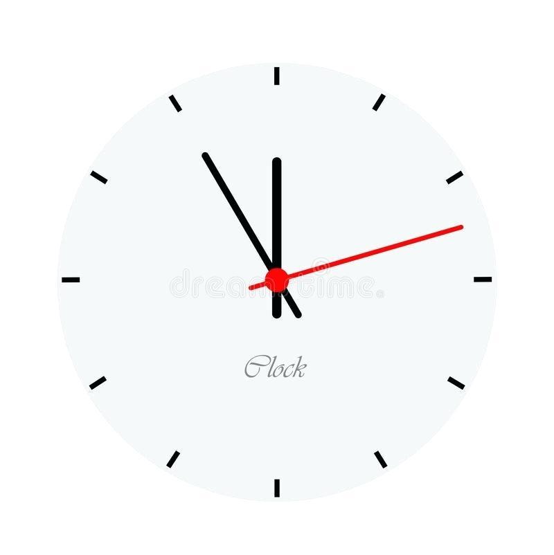 Modern Clock Face Download Clock Face Stock Vector Illustration Of Bomb Future