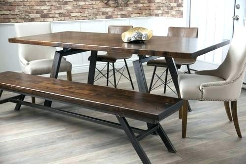 Modern Industrial Kitchen Table Industrial Kitchen Table And Benches Lofty Dining Room Ideas Modern Design Furniture