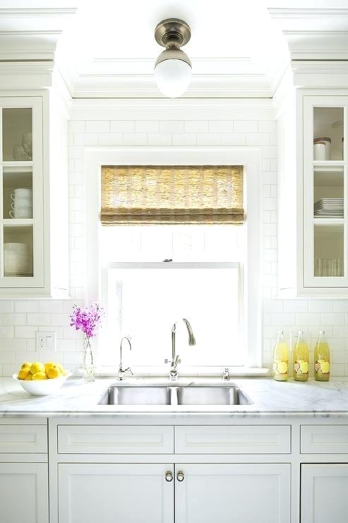 Over The Kitchen Sink Lighting Ideas Ceiling Light Over Kitchen Sink Transitional Kitchen With Kitchen Sink Lighting Ideas