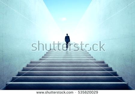 pics of stairs businessman climbing stairs ambitions concept