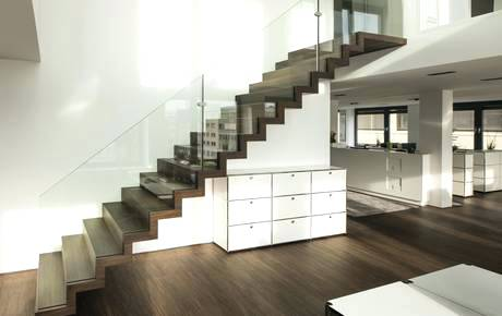 pics of stairs stairs in oak with glass balustrade