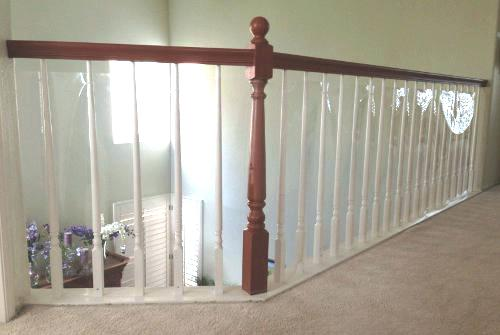 Plexiglass Railing Guard Railing Stairs Balcony And Banisters Photo Gallery Baby Safe Homes Rolled Plastic For Stair Banister Railing