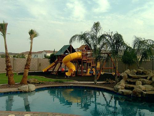 pool landscaping ideas arizona back yard landscaping ideas