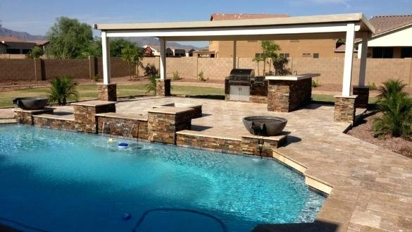 pool landscaping ideas arizona majestic design ideas landscape an outdoor living space to enjoy this season phoenix patio companies pictures