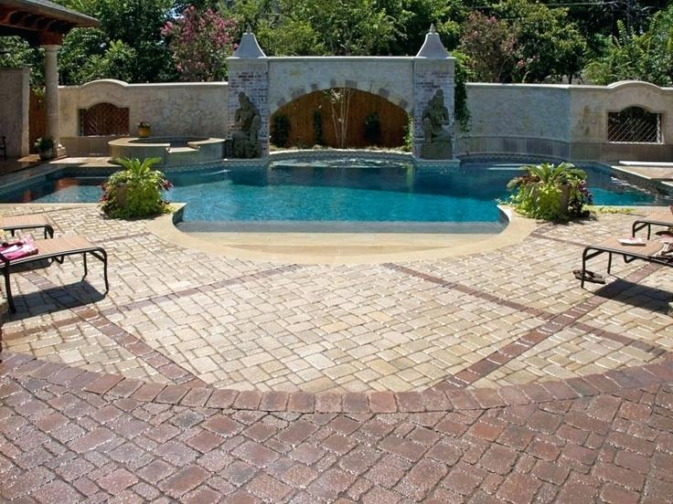 system pavers union city pool deck paving stones pictures pool deck system