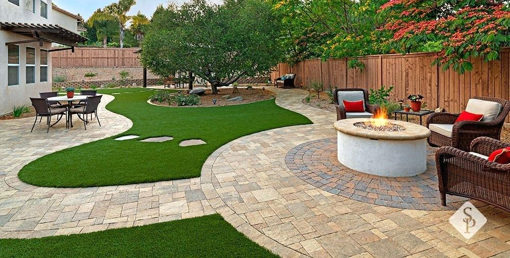 system pavers union city this remodel located in southern has elements designed and installed by system