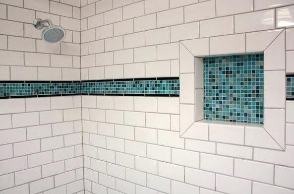 White Subway Tile Bathroom White Subway Tile Bathroom Accent