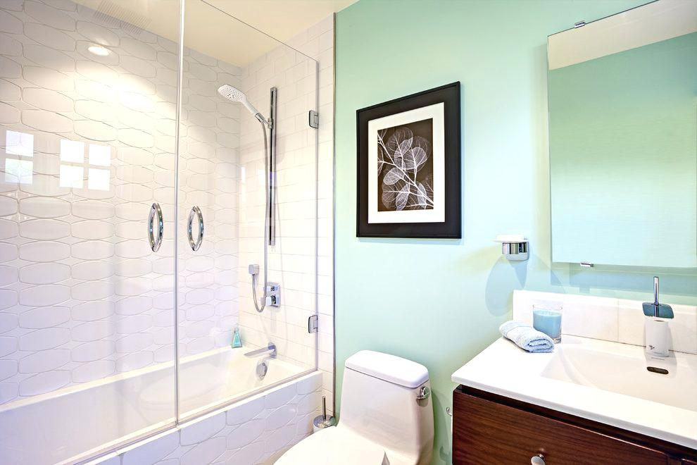 white subway tile bathroom white subway tile grey grout bathroom contemporary with bright green towels modern bathroom vanities with